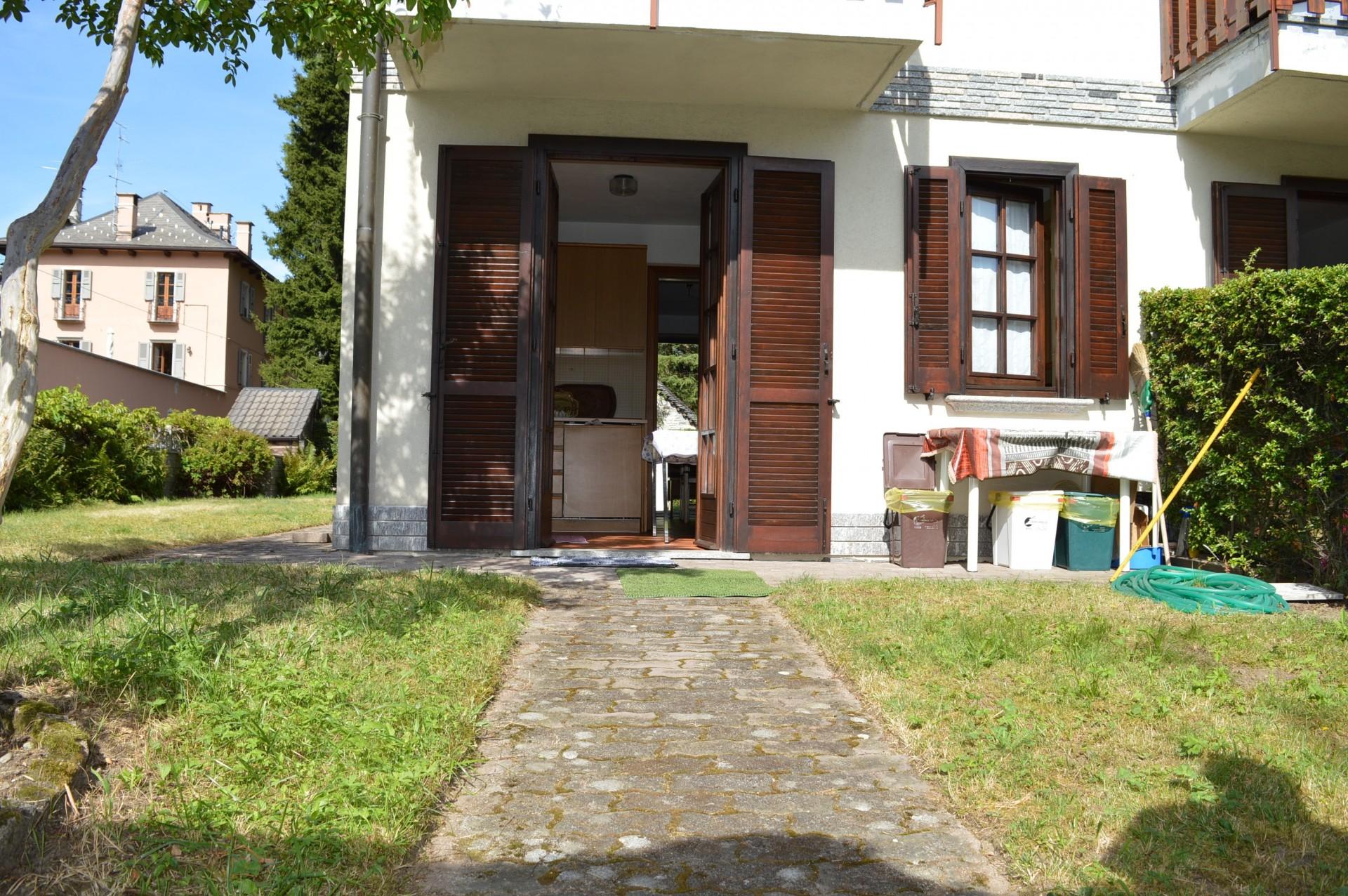 Casette Con Giardino A Trieste.Casa A Schiera Con Giardino In Vendita A Santa Maria Maggiore Va001